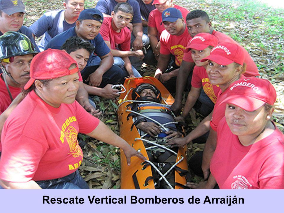 Rescate Vertical Bomberos de Arraiján