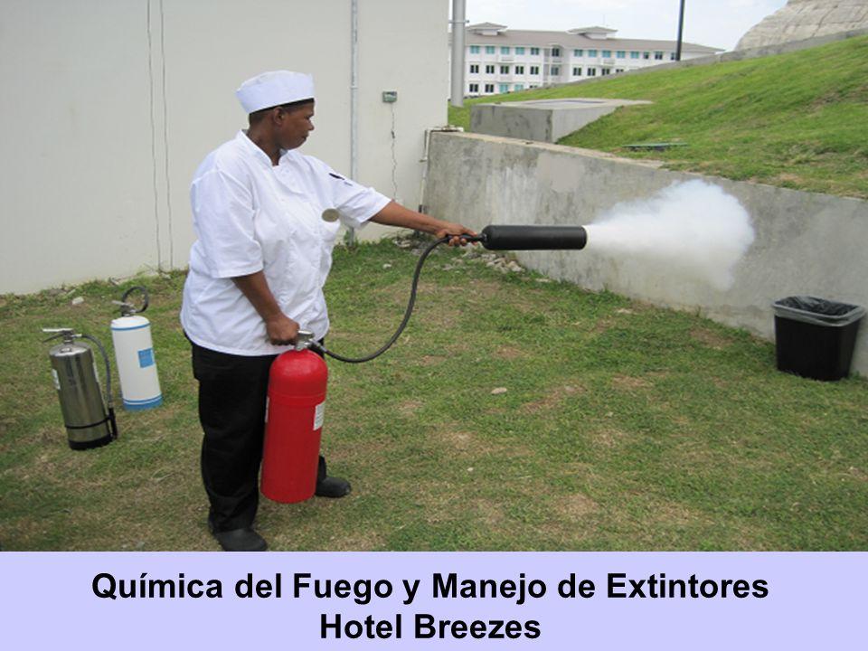 Química del Fuego y Manejo de Extintores