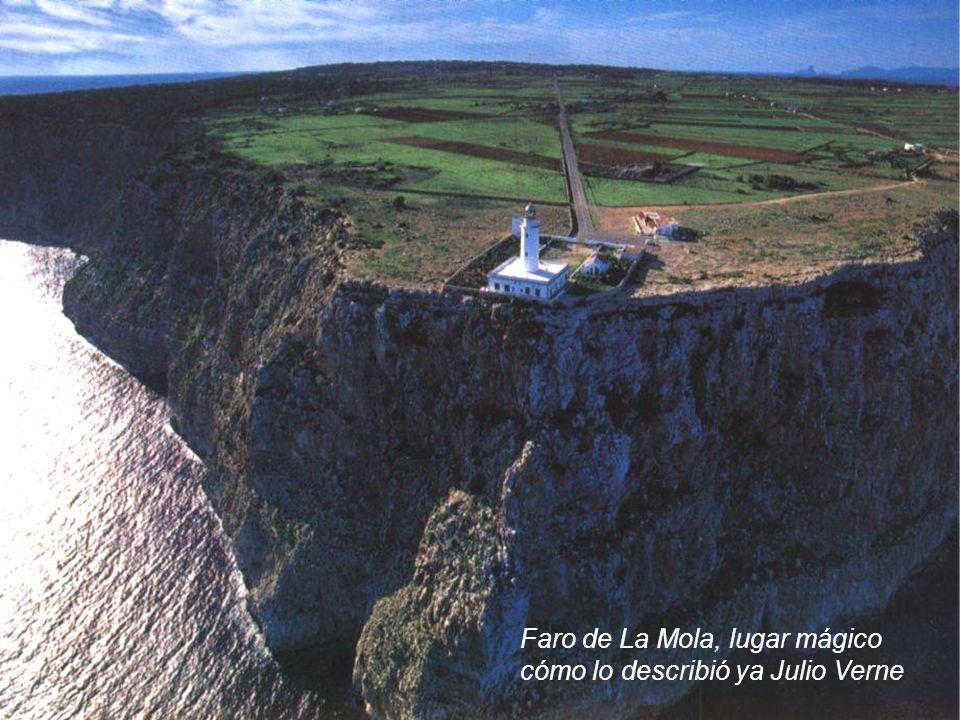 Faro de La Mola, lugar mágico