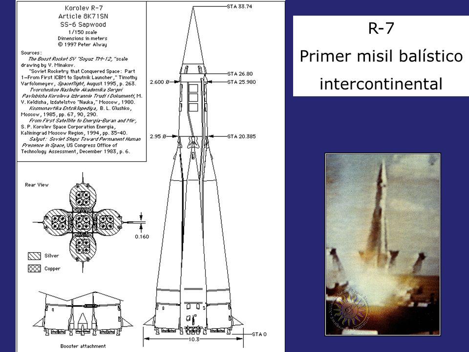 Primer misil balístico