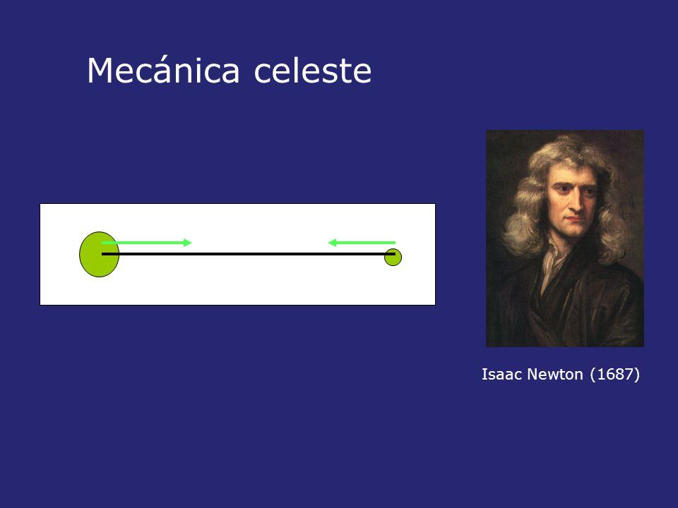 Mecánica celeste Isaac Newton (1687)