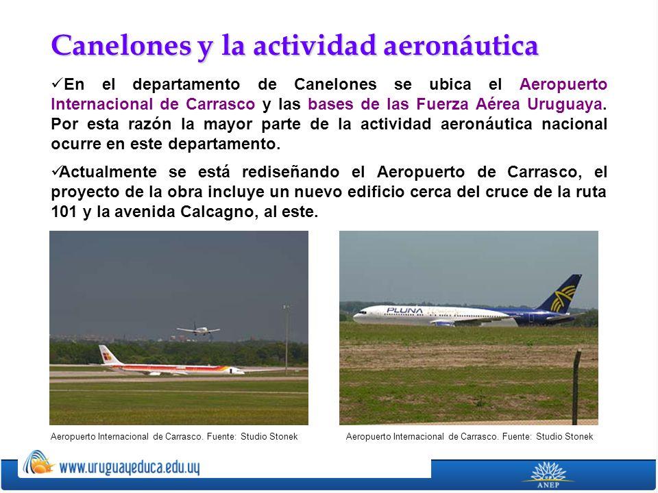 Canelones y la actividad aeronáutica