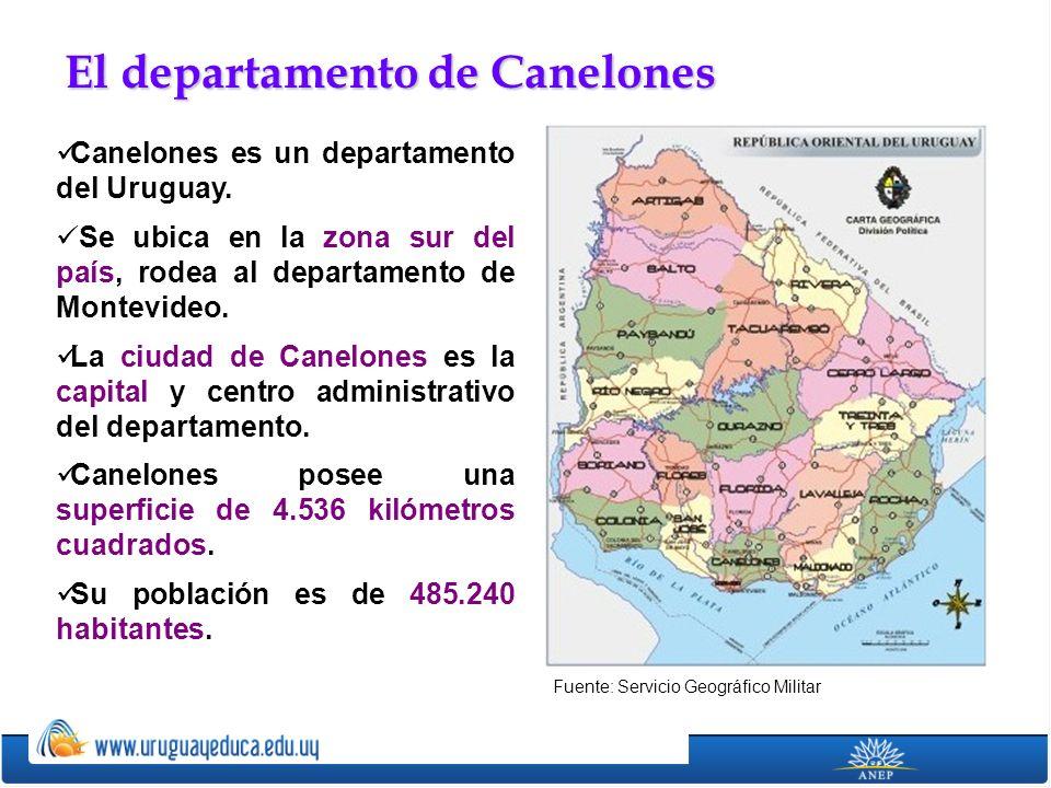 El departamento de Canelones