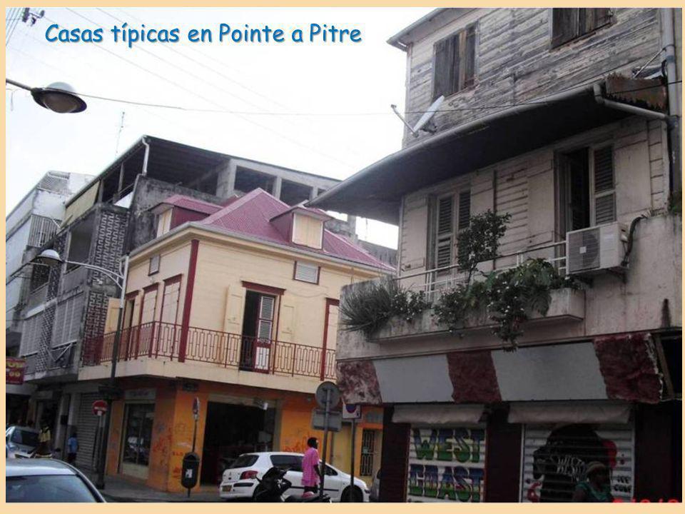 Casas típicas en Pointe a Pitre