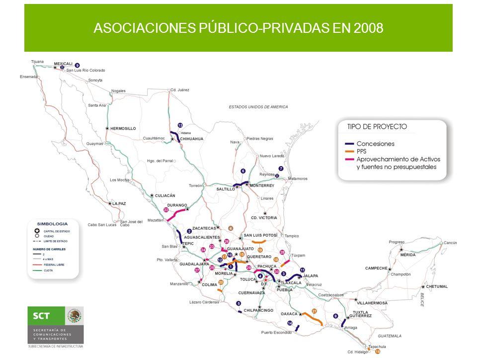 ASOCIACIONES PÚBLICO-PRIVADAS EN 2008