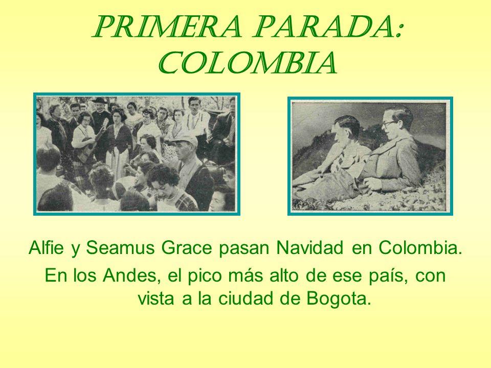Primera parada: Colombia