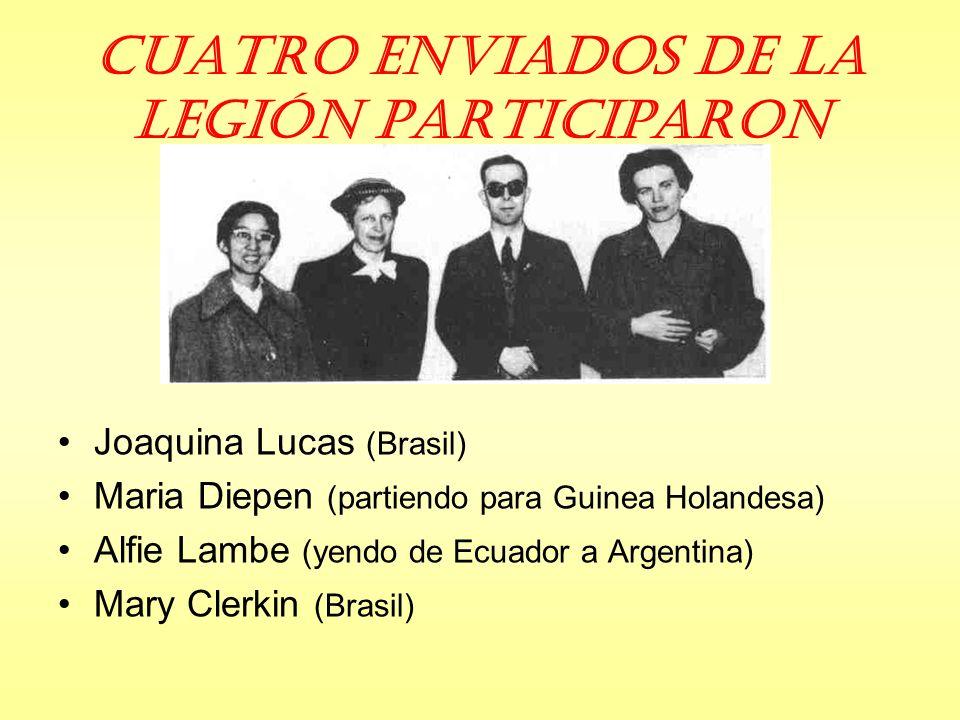 Cuatro Enviados de la Legión participaron