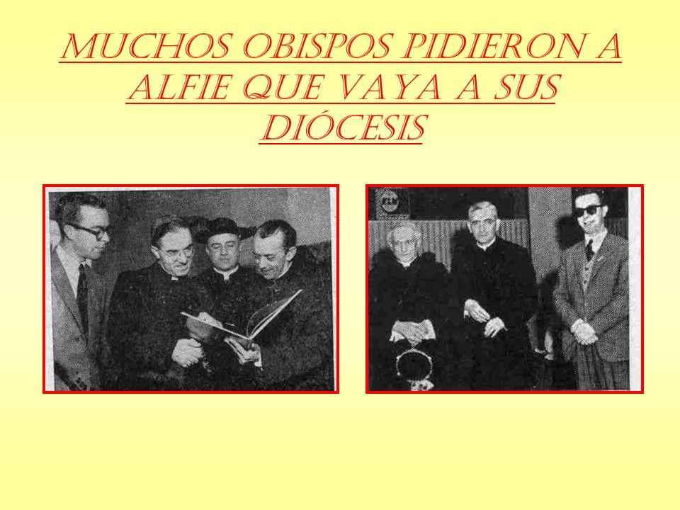 Muchos Obispos pidieron a Alfie que vaya a sus Diócesis