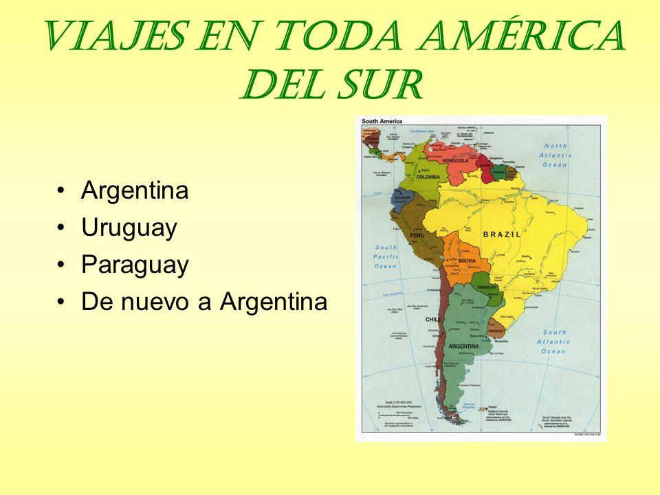 Viajes en toda América del Sur