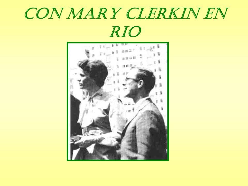 Con Mary Clerkin en Rio