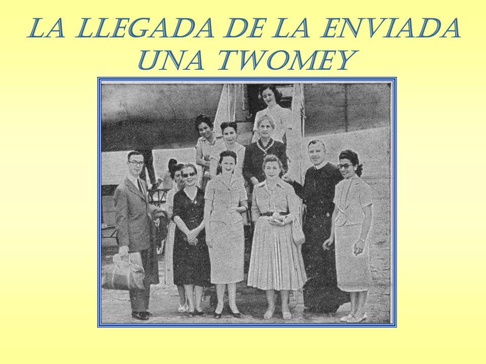 La llegada de la enviada Una Twomey