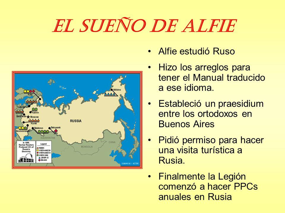 El sueño de Alfie Alfie estudió Ruso