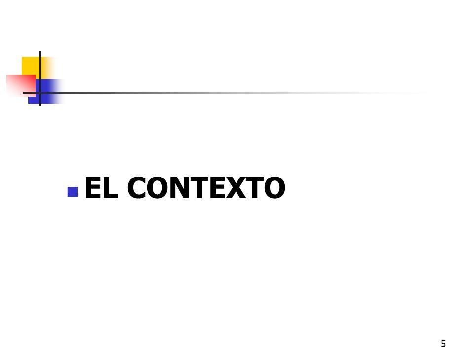 EL CONTEXTO