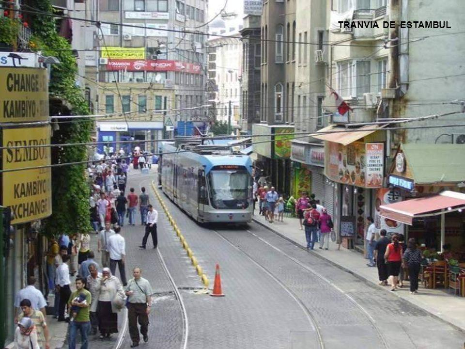 TRANVIA DE ESTAMBUL TRANVIA DE ESTAMBUL