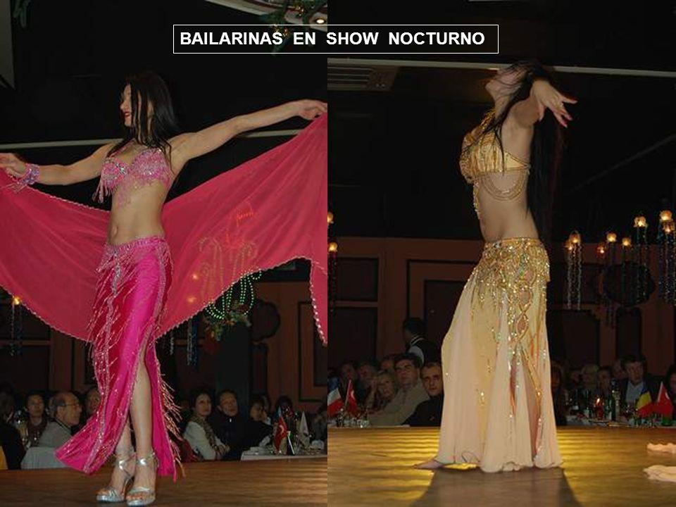 BAILARINAS EN SHOW NOCTURNO