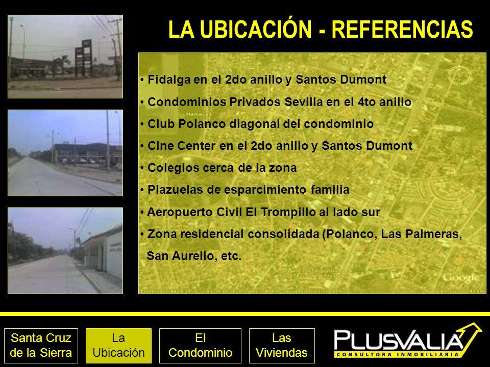 LA UBICACIÓN - REFERENCIAS