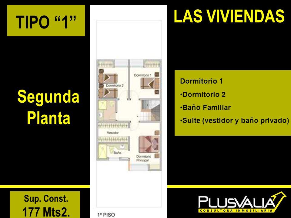 LAS VIVIENDAS TIPO 1 SegundaPlanta