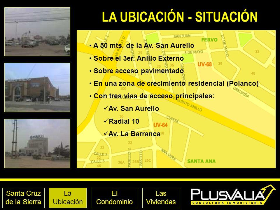 LA UBICACIÓN - SITUACIÓN