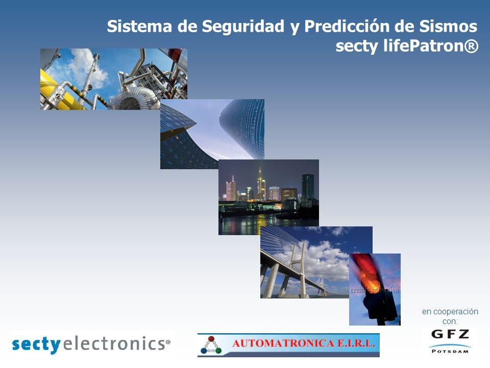 Sistema de Seguridad y Predicción de Sismos secty lifePatron®