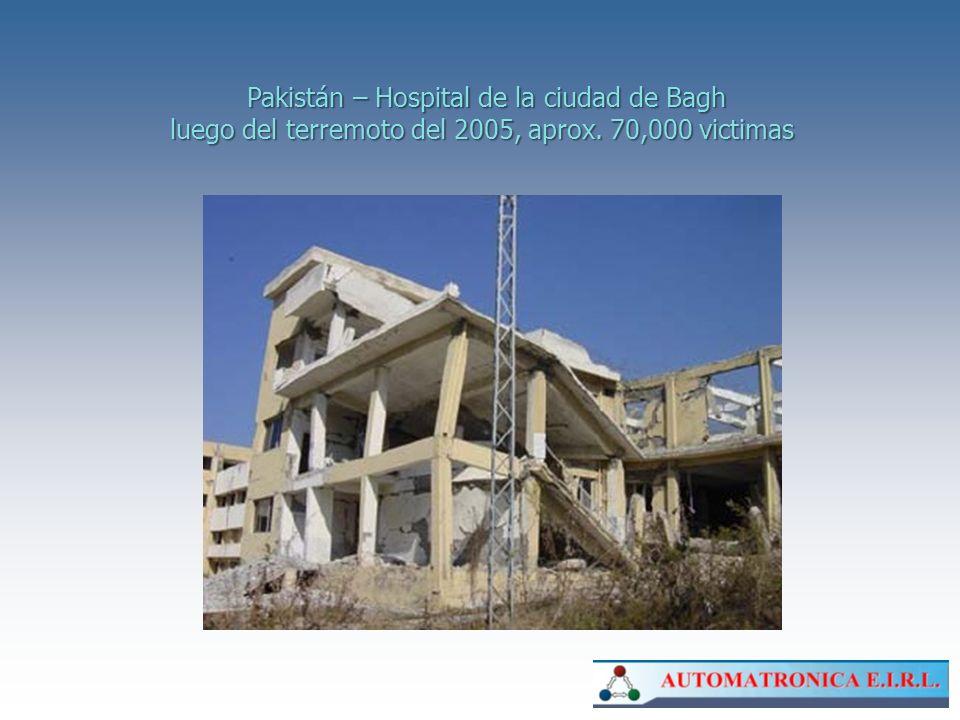 Pakistán – Hospital de la ciudad de Bagh
