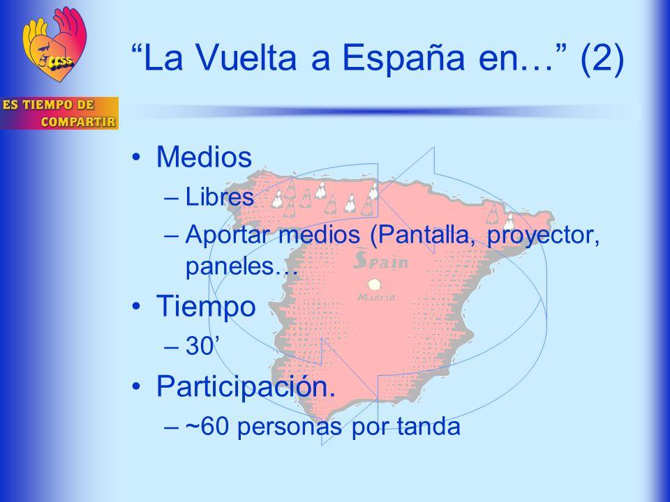 La Vuelta a España en… (2)