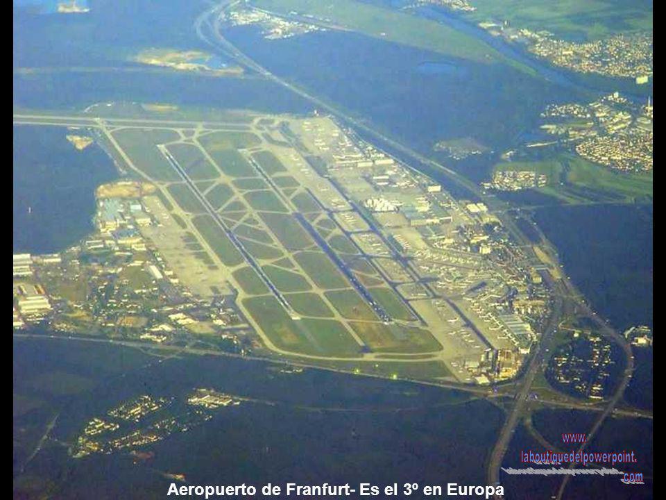 Aeropuerto de Franfurt- Es el 3º en Europa