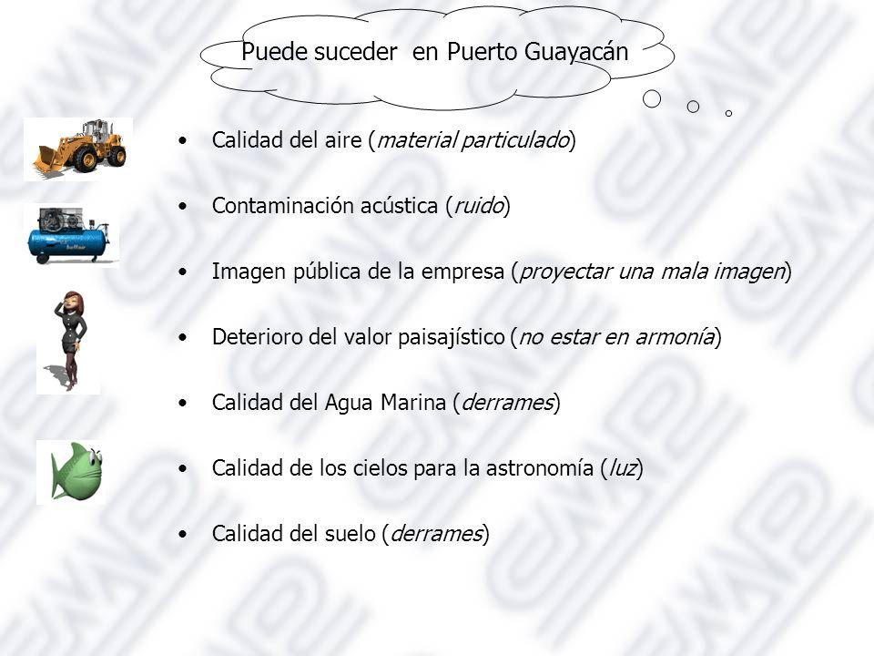 Puede suceder en Puerto Guayacán