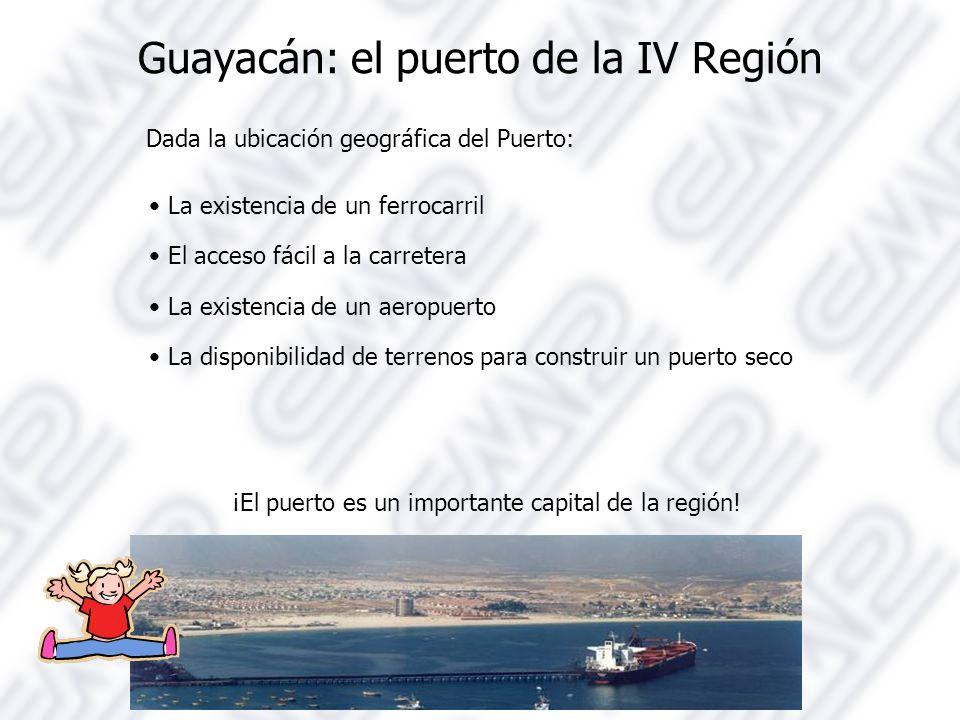 Guayacán: el puerto de la IV Región