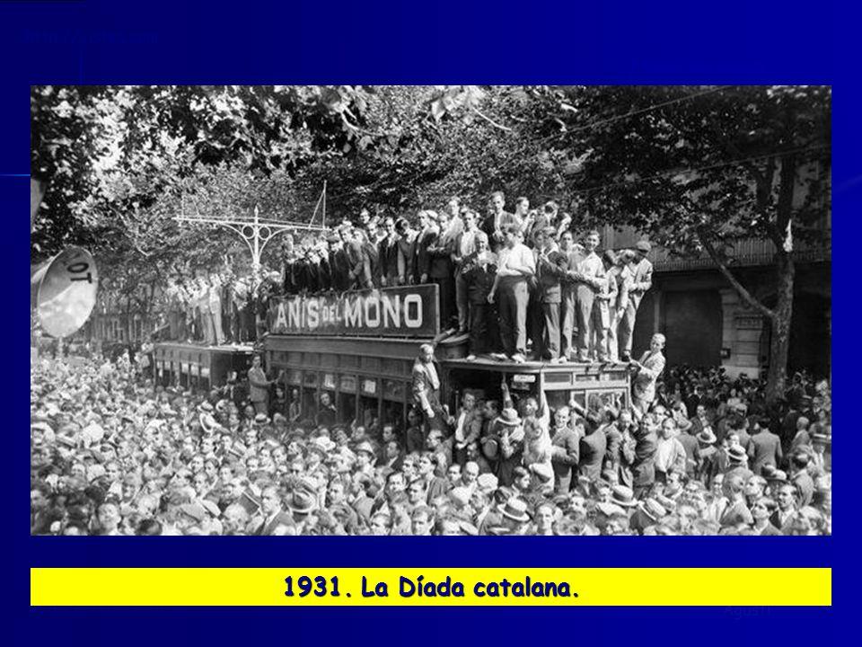 1931. La Díada catalana.