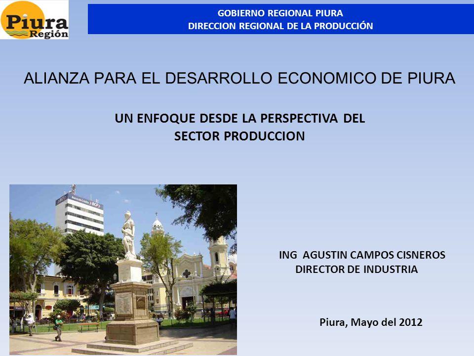 ALIANZA PARA EL DESARROLLO ECONOMICO DE PIURA