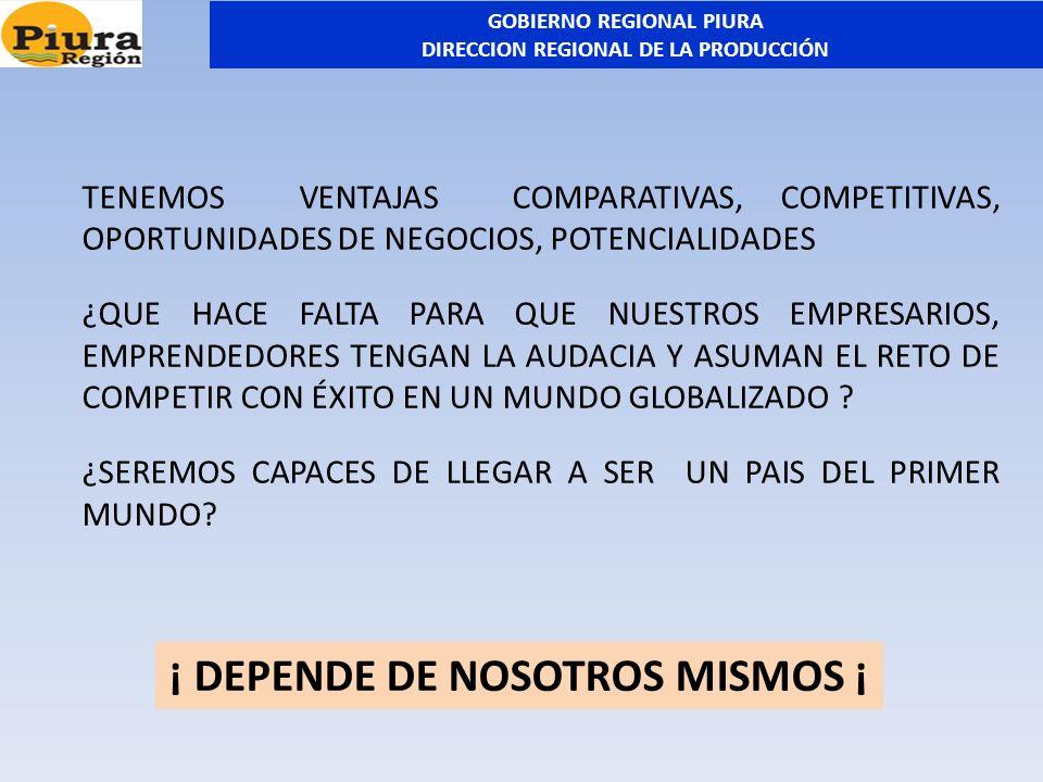 ¡ DEPENDE DE NOSOTROS MISMOS ¡