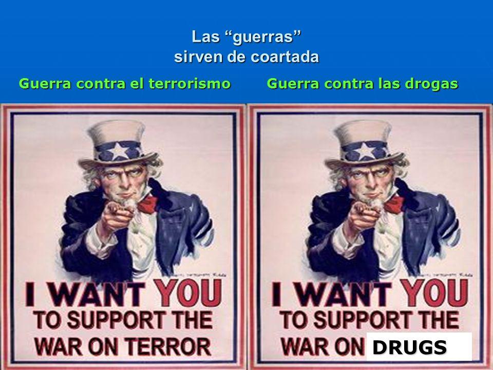 Las guerras sirven de coartada