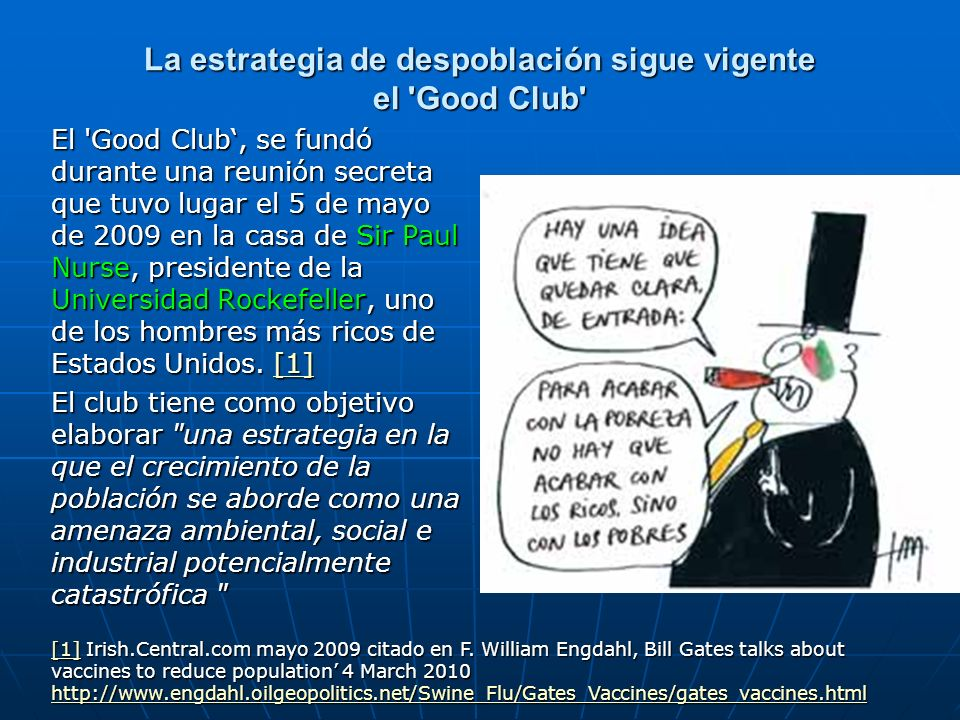 La estrategia de despoblación sigue vigente el Good Club