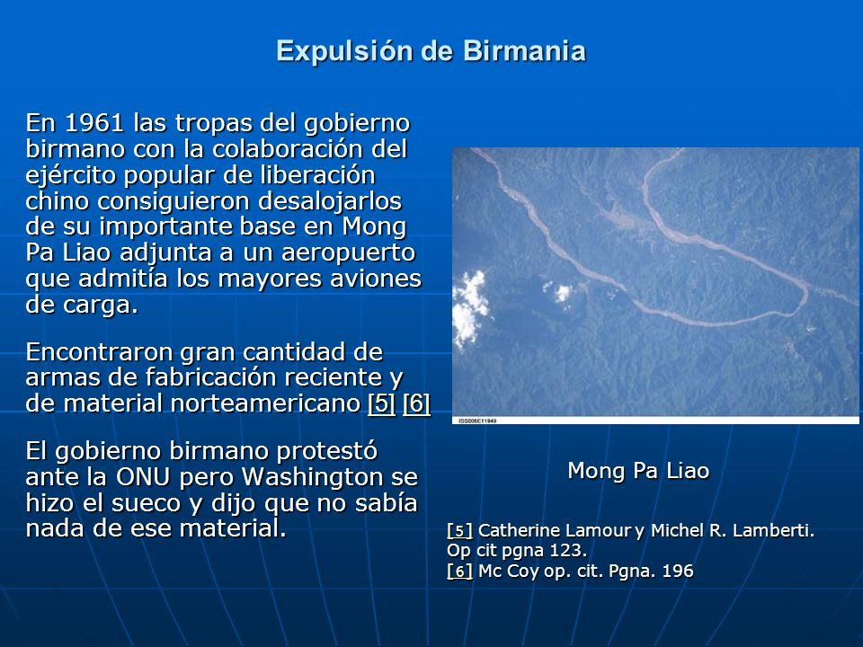Expulsión de Birmania
