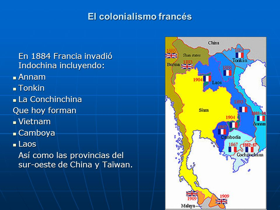 El colonialismo francés