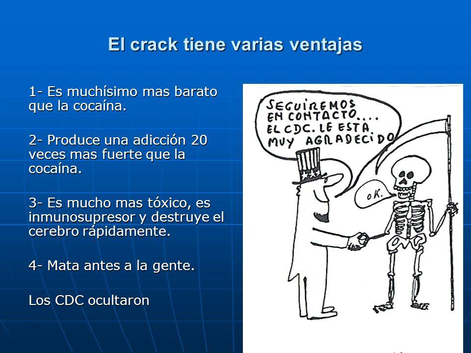 El crack tiene varias ventajas