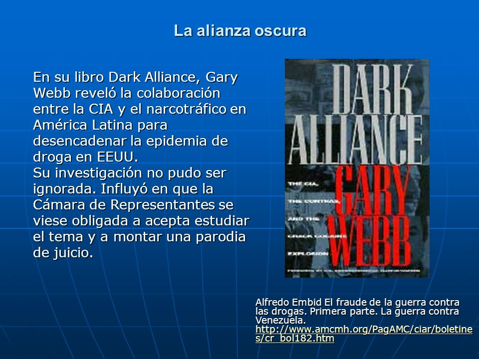 La alianza oscura