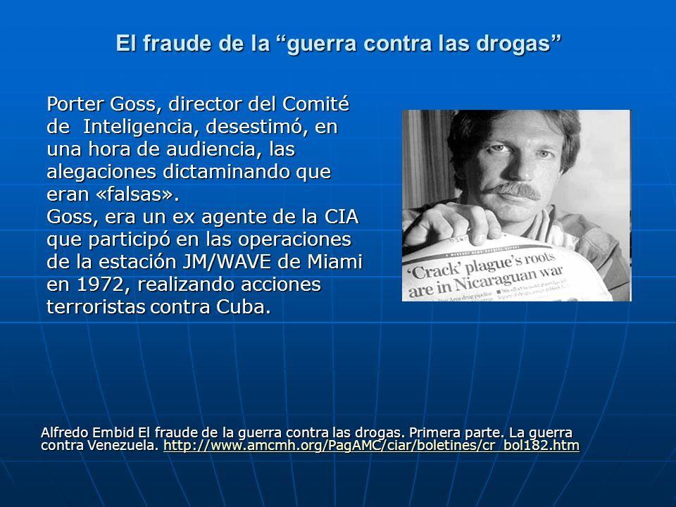 El fraude de la guerra contra las drogas