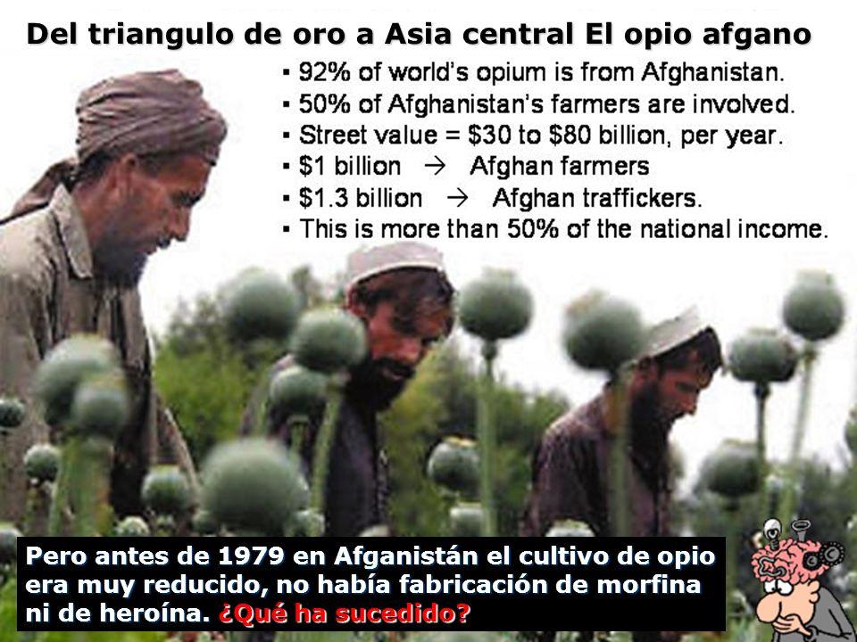 Del triangulo de oro a Asia central El opio afgano