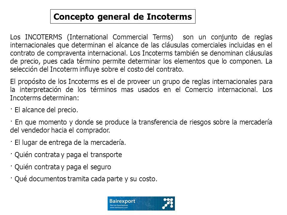 Concepto general de Incoterms