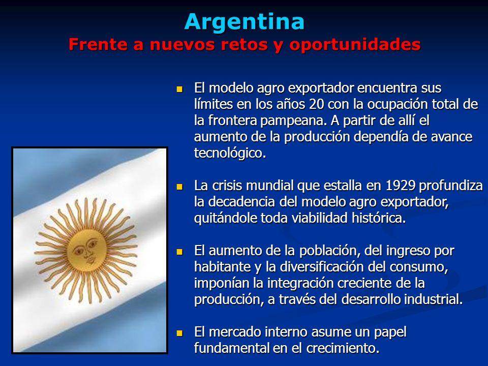 Argentina Frente a nuevos retos y oportunidades
