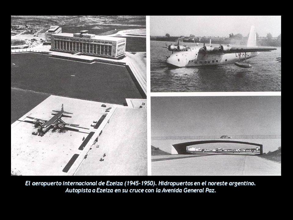 El aeropuerto internacional de Ezeiza (1945-1950)