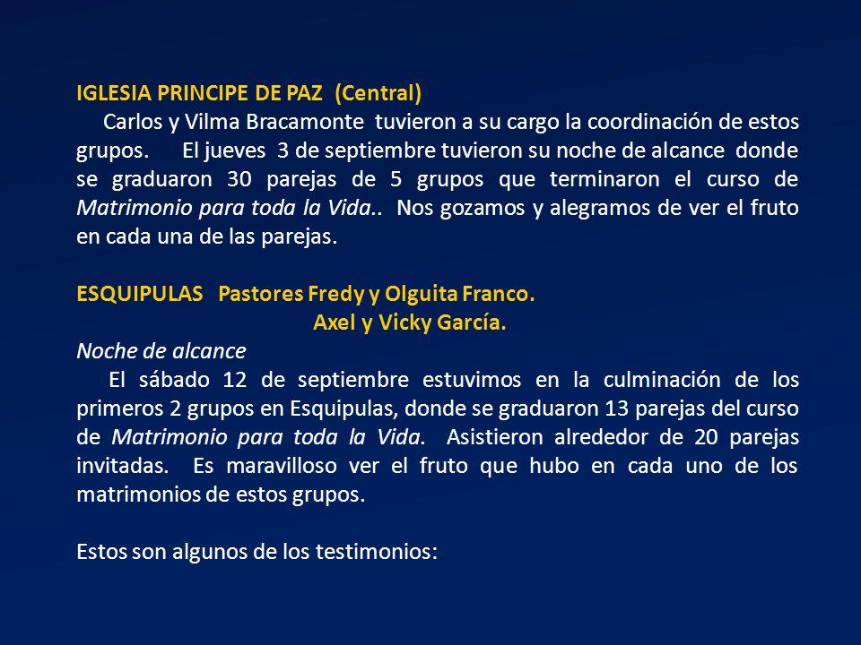 IGLESIA PRINCIPE DE PAZ (Central)