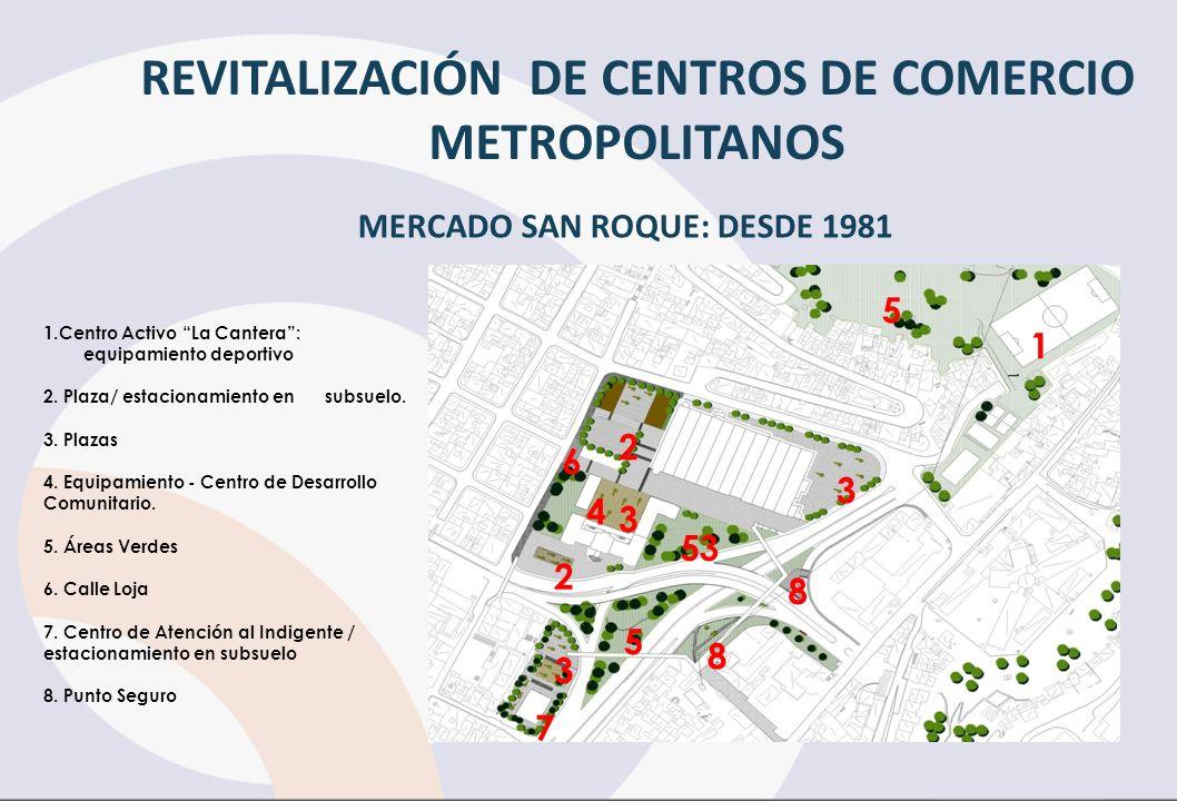 REVITALIZACIÓN DE CENTROS DE COMERCIO METROPOLITANOS