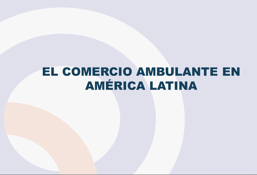 EL COMERCIO AMBULANTE EN