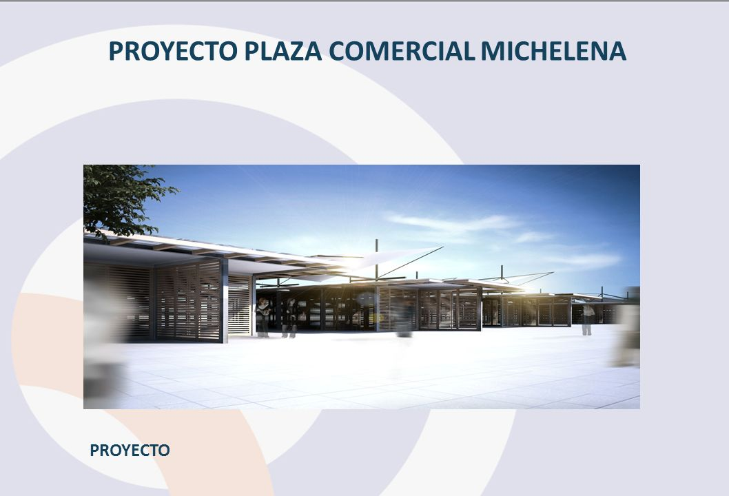 PROYECTO PLAZA COMERCIAL MICHELENA