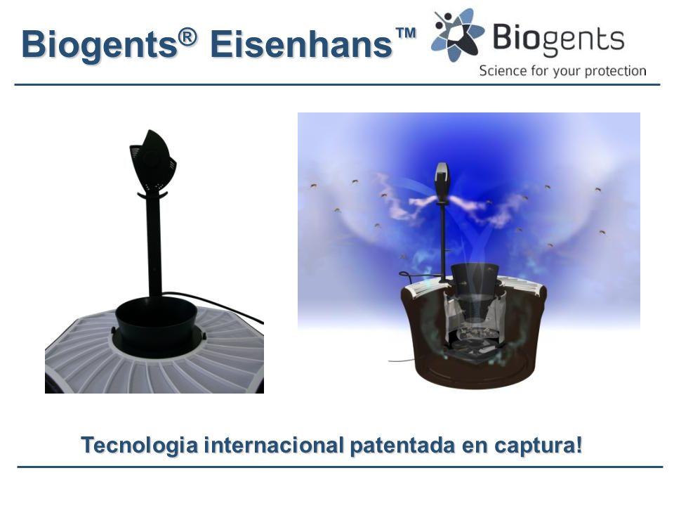 Tecnologia internacional patentada en captura!