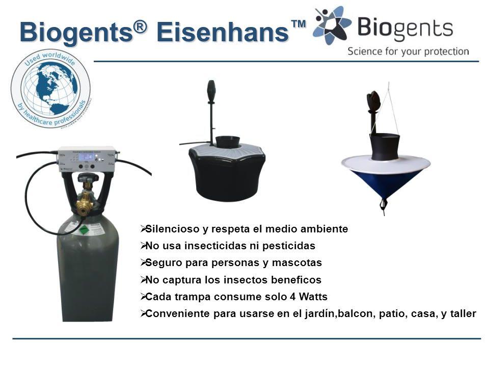 Biogents® Eisenhans™ Silencioso y respeta el medio ambiente