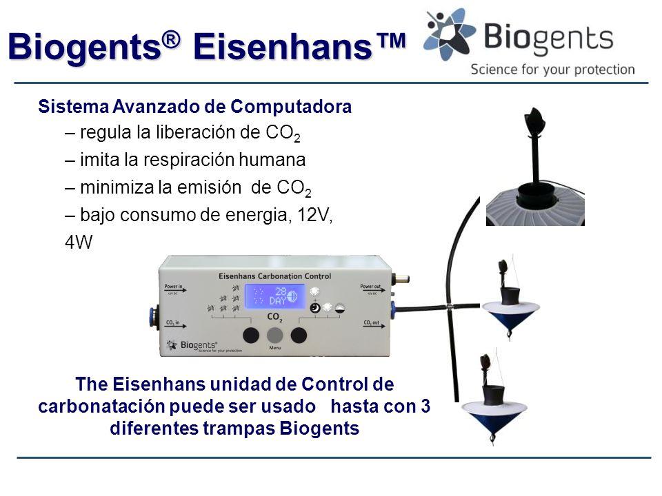 Biogents® Eisenhans™ Sistema Avanzado de Computadora