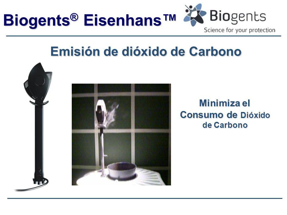 Biogents® Eisenhans™ Emisión de dióxido de Carbono